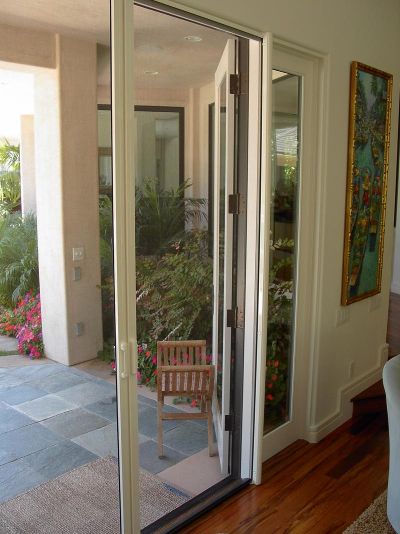 Retractable doors retractable screen doors for Phantom door screens prices