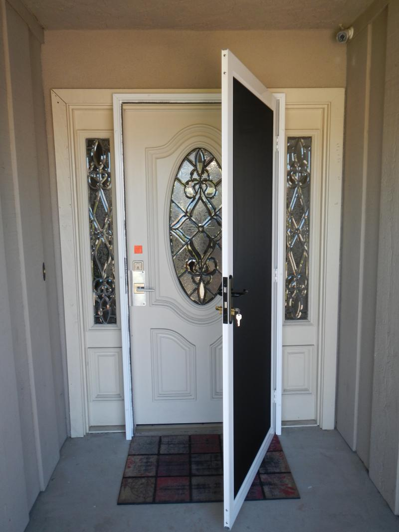 TruView Security Door open